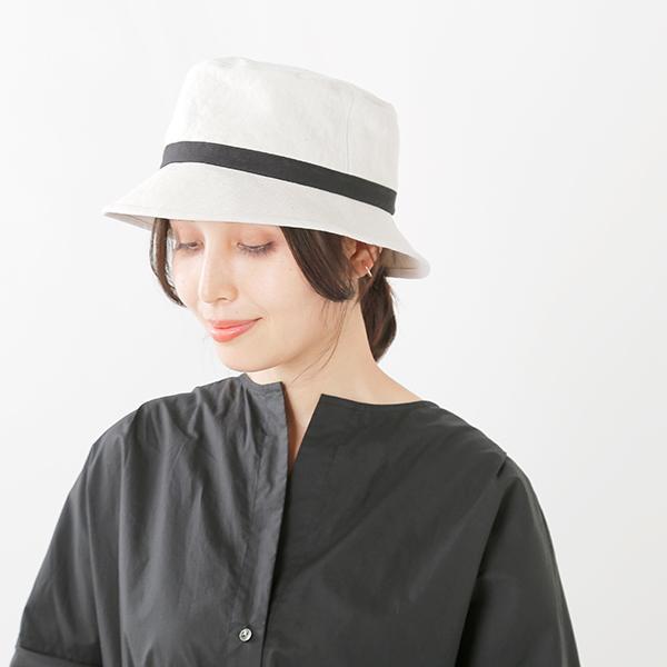 Chapeaugraphy 【最大56倍】 リネンベレー帽 213-mm (シャポーグラフィー) 【2018ss新作】