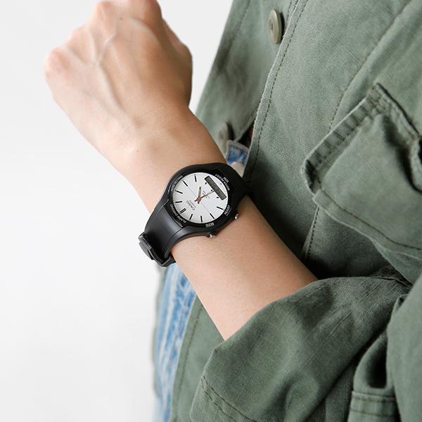 CASIO(カシオ)スタンダード アナデジ 腕時計 aw-90h-7evdf-yn