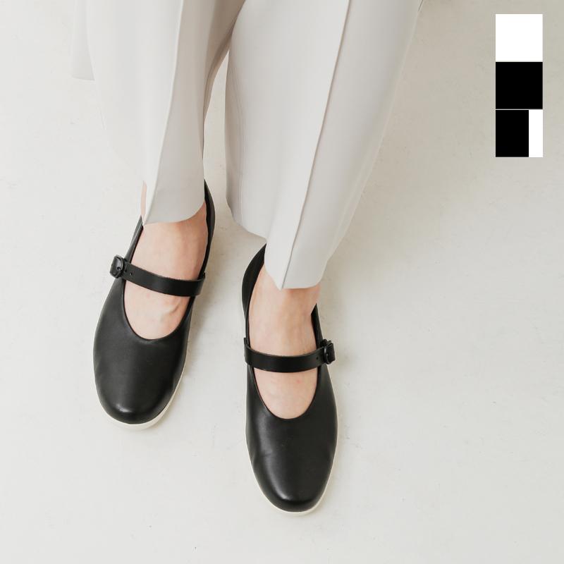 【2019aw新作】TRAVEL SHOES by chausser(トラベルシューズバイショセ)レザーワンストラップシューズ tr-002-yh【サイズ交換初回無料】