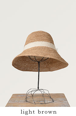 "mature ha. (마츄아하) 라피아핫트""raffia hat cotton line short""mra-21-so"
