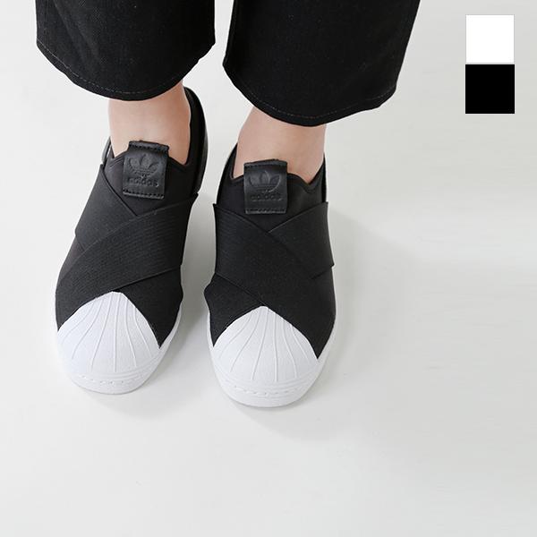 official photos 0a977 64a13 adidas Originals (Adidas originals) stretch strap slip-ons