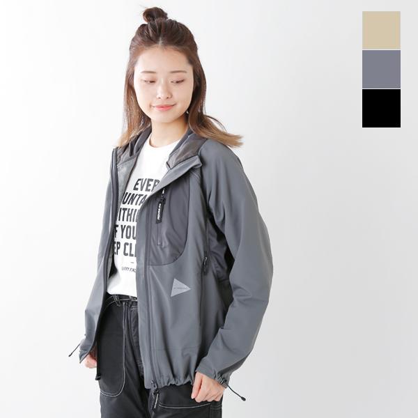 "【2019ss新作】and wander(アンドワンダー)トレックフードジャケット""trek jacket 2"" aw91-ft011-mm"