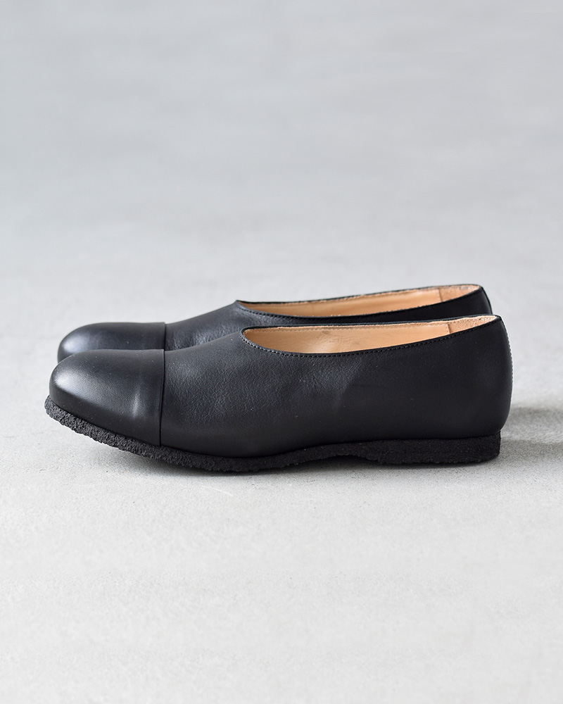 M (M) straight tip leather slip-ons sec-xxx-mm