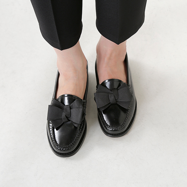 8337980f1d9 G.H.BASS (G H bus) ribbon leather loafer