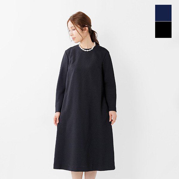 【最大46倍】nooy(ヌーイ)aranciato別注ブークレジャガードブラックテントドレス fop05-tr