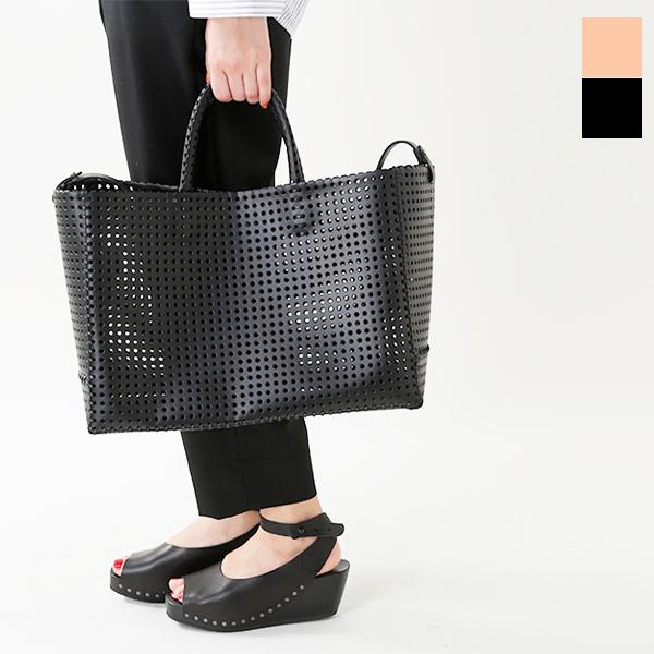 """【☆】【最大33倍】irose(イロセ)パンチングカウレザーカゴトートバッグ""""KAGO"""" bag-k01-mm"""