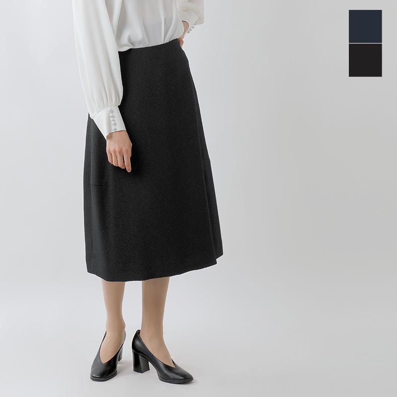 【最大46倍】nooy(ヌーイ)aranciato別注ブークレジャガードブラックランプスカート fsk02-ms【サイズ交換初回無料】