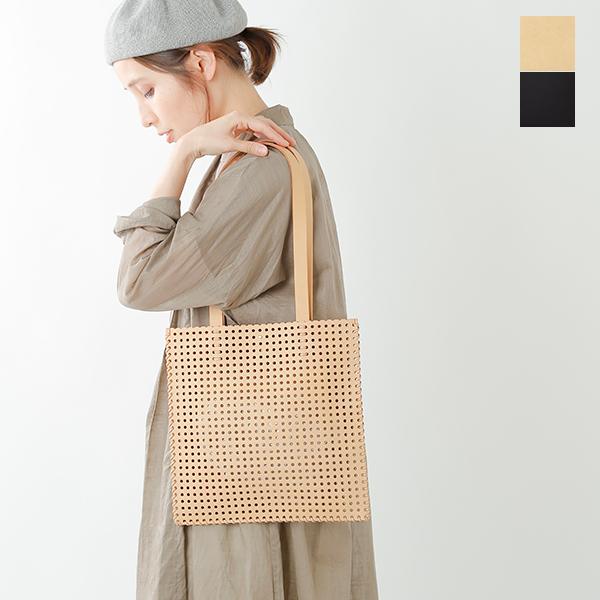 【☆】【最大33倍】irose(イロセ)パンチングカウレザーカゴフラットバッグ bag-k06-rf
