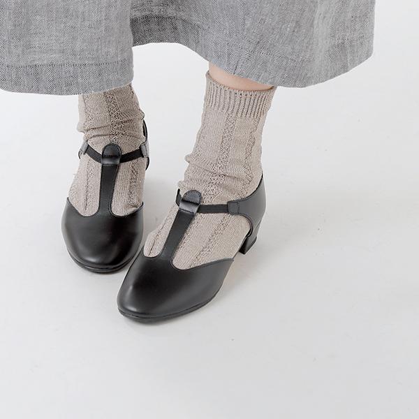 """【クーポン対象】CATWORTH(キャットワース)レザーTストラップパンプス""""Greek Dance Sandal"""" greek-sandal-18000-yh【サイズ交換初回無料】"""