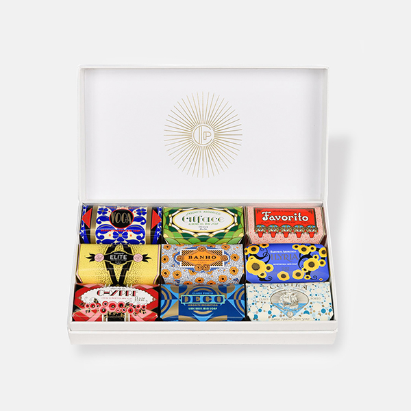"""【2020aw新作】CLAUS PORTO(クラウス・ポルト)シアバターギフトボックス50g×9個セット""""DECO COLLECTION GIFT BOXES"""" deco-gift-9-rf"""