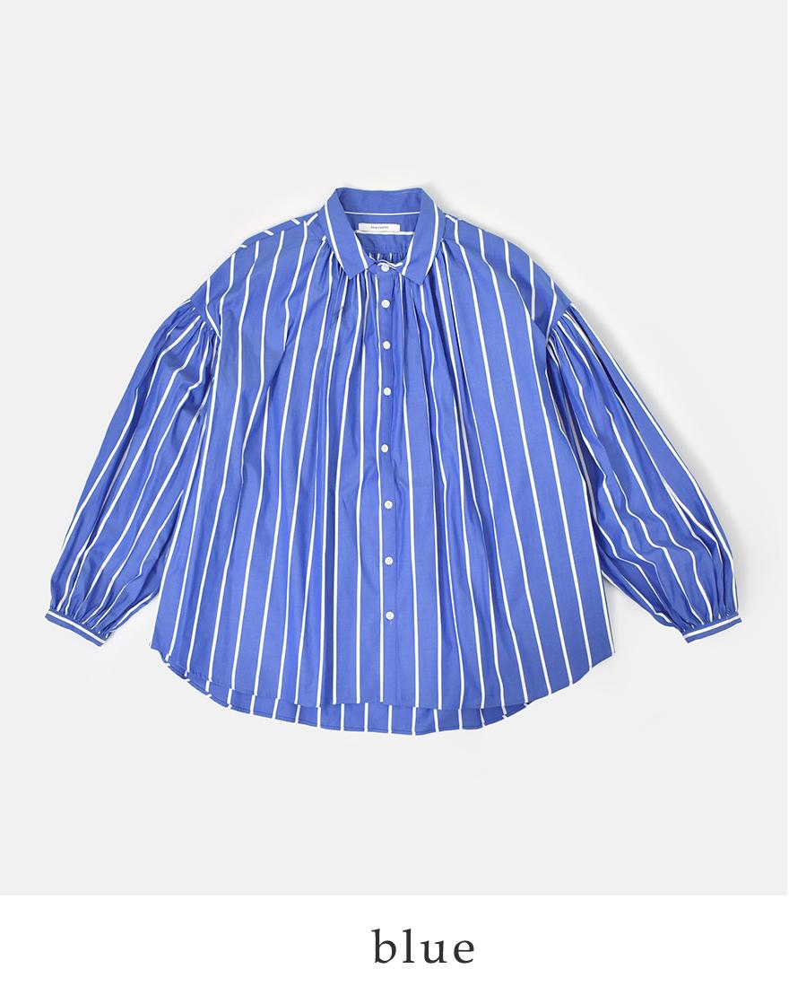 【最大46倍】【30%OFF】manon(マノン)コットンブロードクロスアミカルギャザーシャツ mnn-sh-082-yn