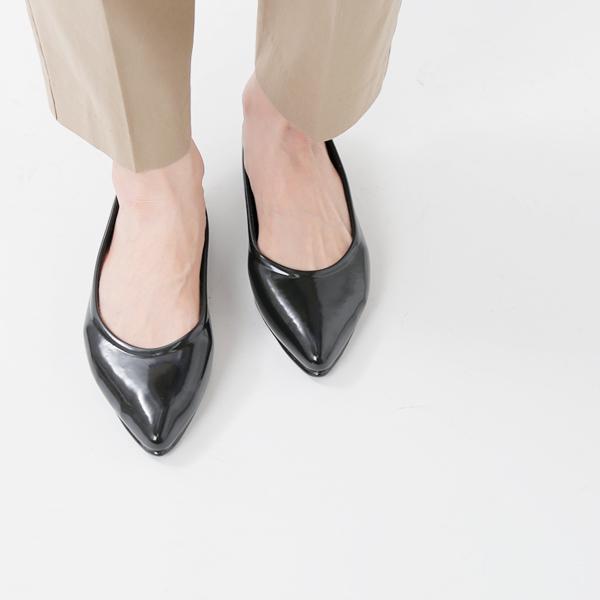 【最大33倍】【2020ss新作】FOX UMBRELLAS(フォックス・アンブレラ)エナメルポインテッドレインシューズ pointed-shoes-mm【サイズ交換初回無料】