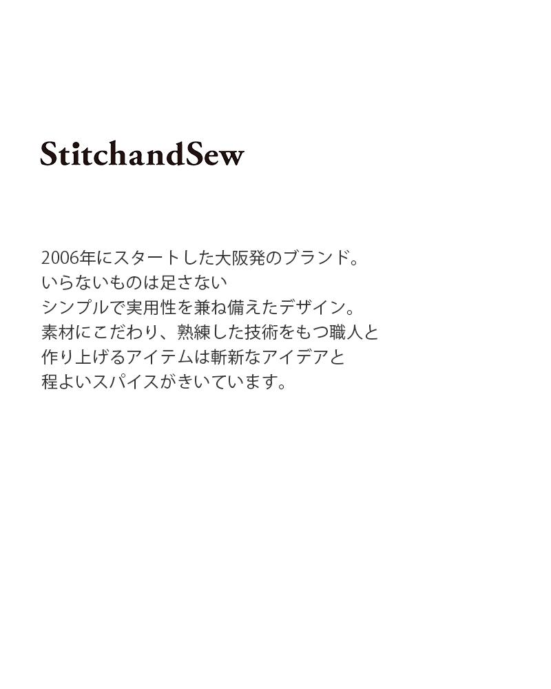 StitchandSew(スティッチアンドソー)ステンレススチールサークルウォッチ S c15-6-ms