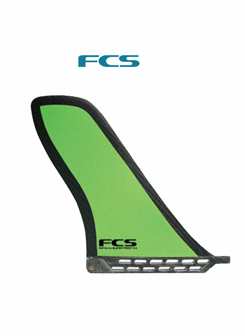 FCS 様々なシーンで活躍!! SUP センターフィン【SLATER TROUT 8.5