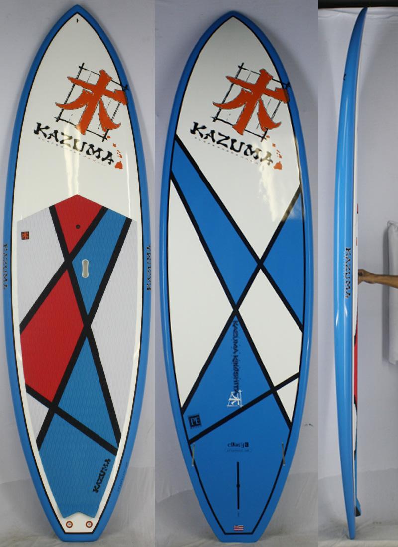 【新品】KAZUMA Surfboards Hawaii (カズマサーフボードハワイ) CLASSICモデル サーフボード [brush] 9'8