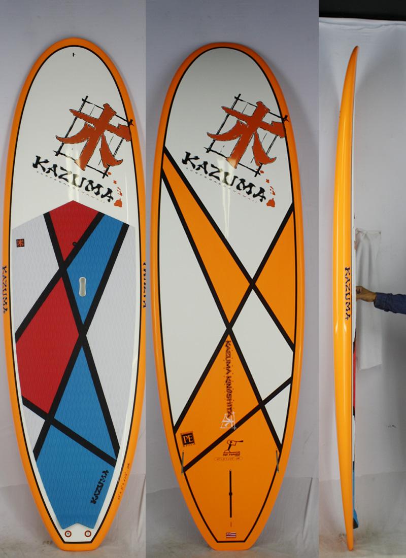【新品】KAZUMA Surfboards Hawaii (カズマサーフボードハワイ) FUKUDAモデル サーフボード [brush] 9'0