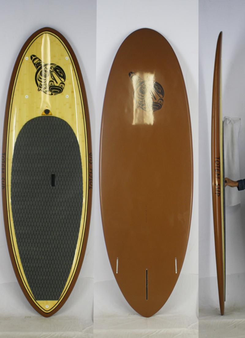 【新品】TOTEM(トーテム)スタンドアップパドルボード [Brown] 8'0