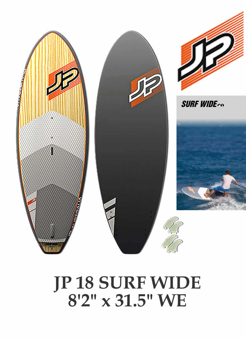 【メーカーお取り寄せ】JP-AUSTRALIA(ジェイピーオーストラリア)2018 SURF WIDE 8'2