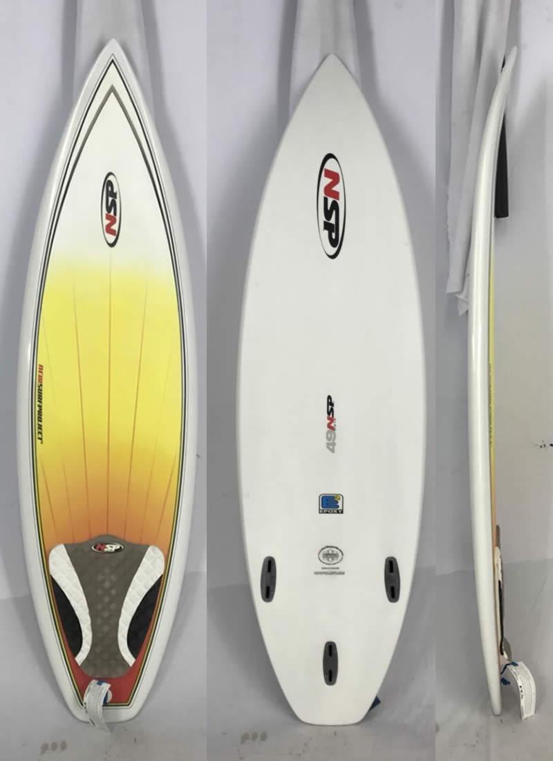 【新品】NSP(エヌエスピー)GROM サーフボード 4'9