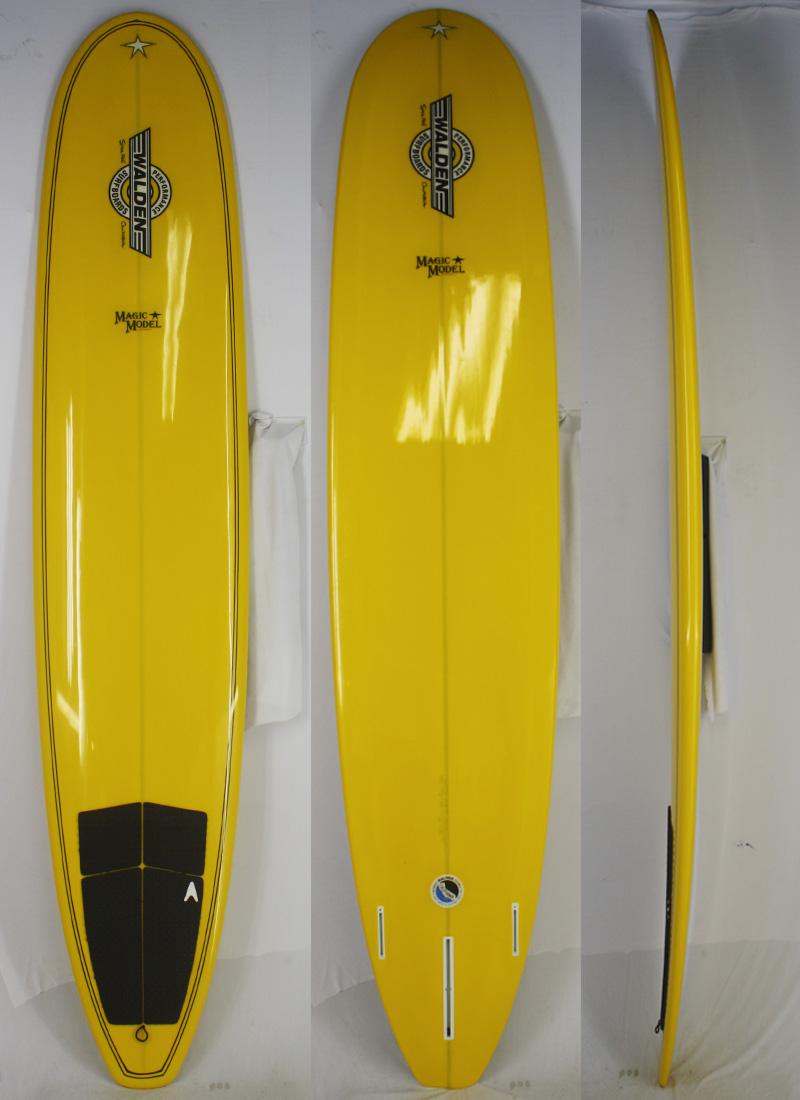 【中古】WALDEN (ウォルデン) サーフボード [Yellow] 9'6
