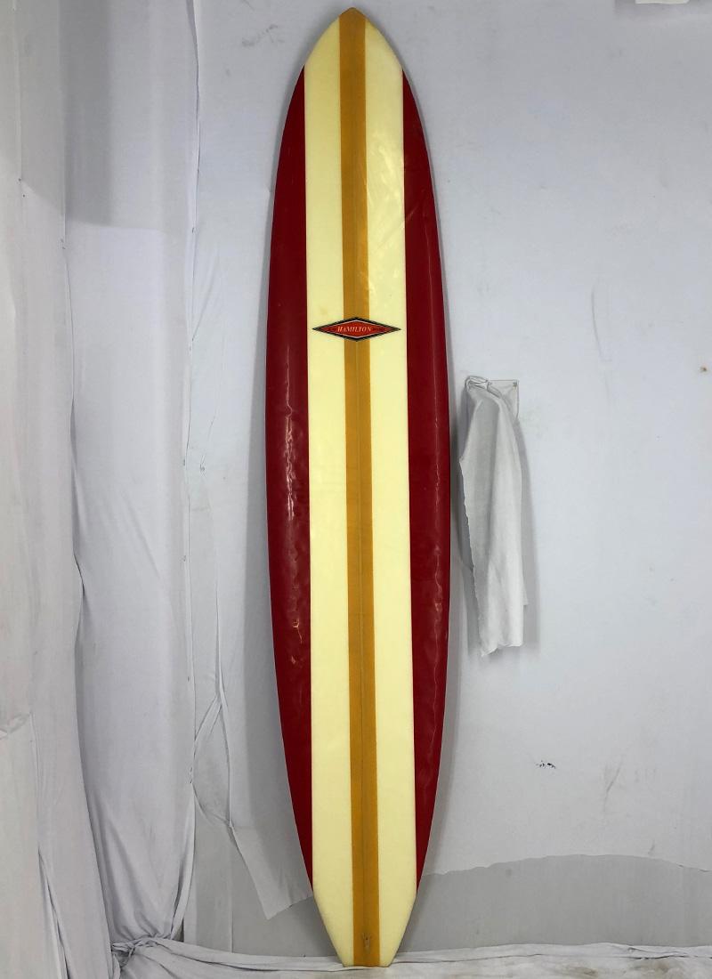 【中古】HAMILTON(ハミルトン) サーフボード [brush] 284cm ロングボード