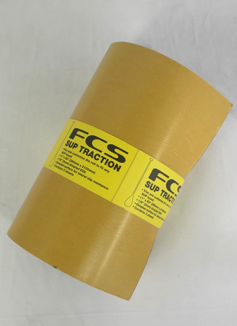 【新品】FCS(エフシーエス)SUP TRACTION [BLACK DIMPLES]280mm × 2100mm 2枚入り スタンドアップパドル グリップ
