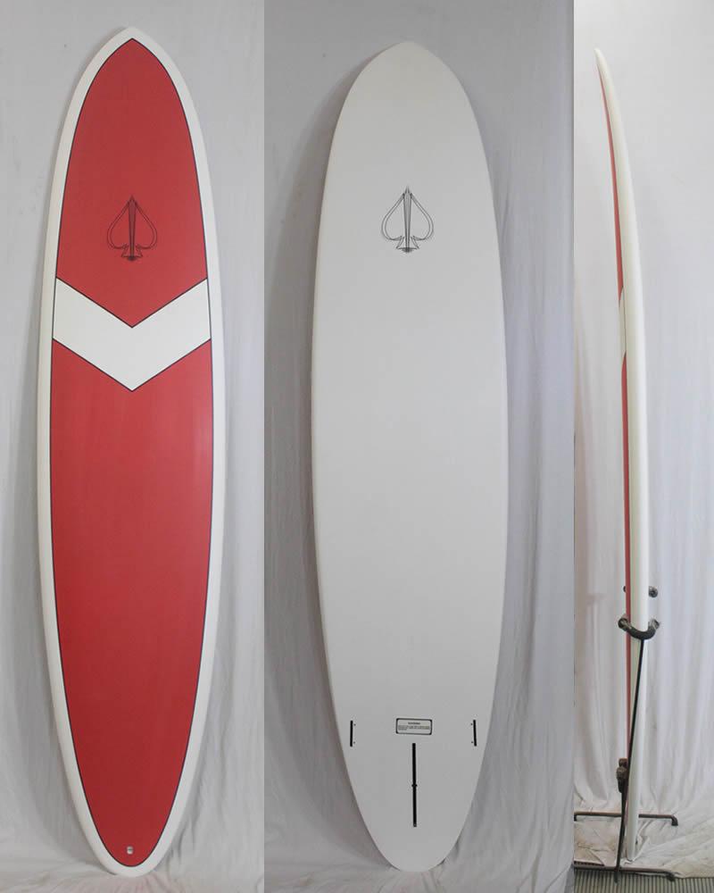 【新品アウトレット】Spade(スペード) サーフボード [red] 8'2