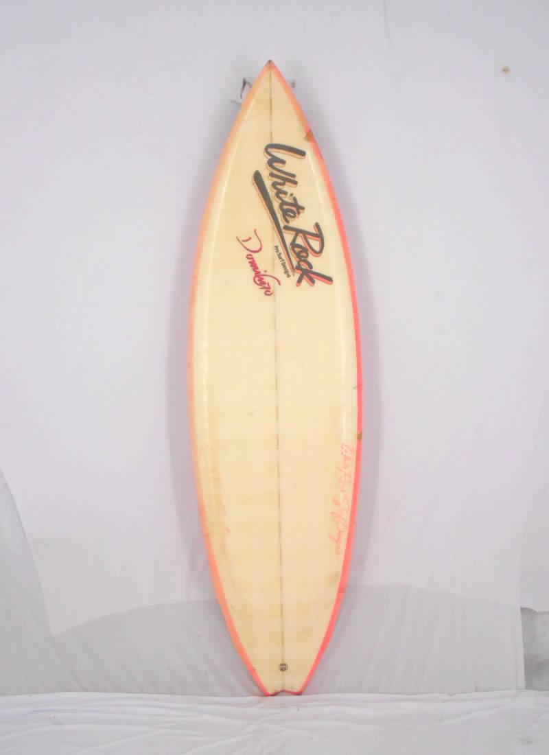 【中古】White Rock SurfBoards サーフボード [brush] 175cm ショートボード