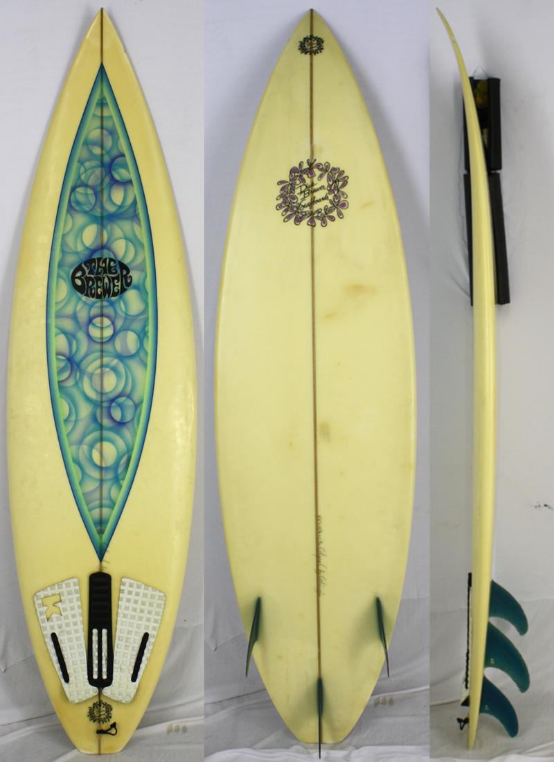 【中古】DICK BREWER SURFBOARD (ディックブルーワーサーフボード) サーフボード [brush] 6'0
