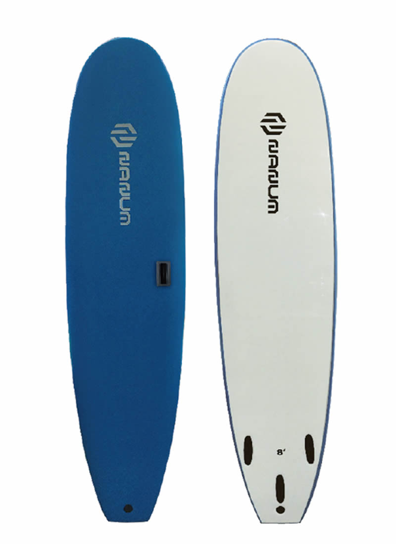 【新品】NANUM (ナヌム) ソフトボード サーフボード [BLUE] 8'0