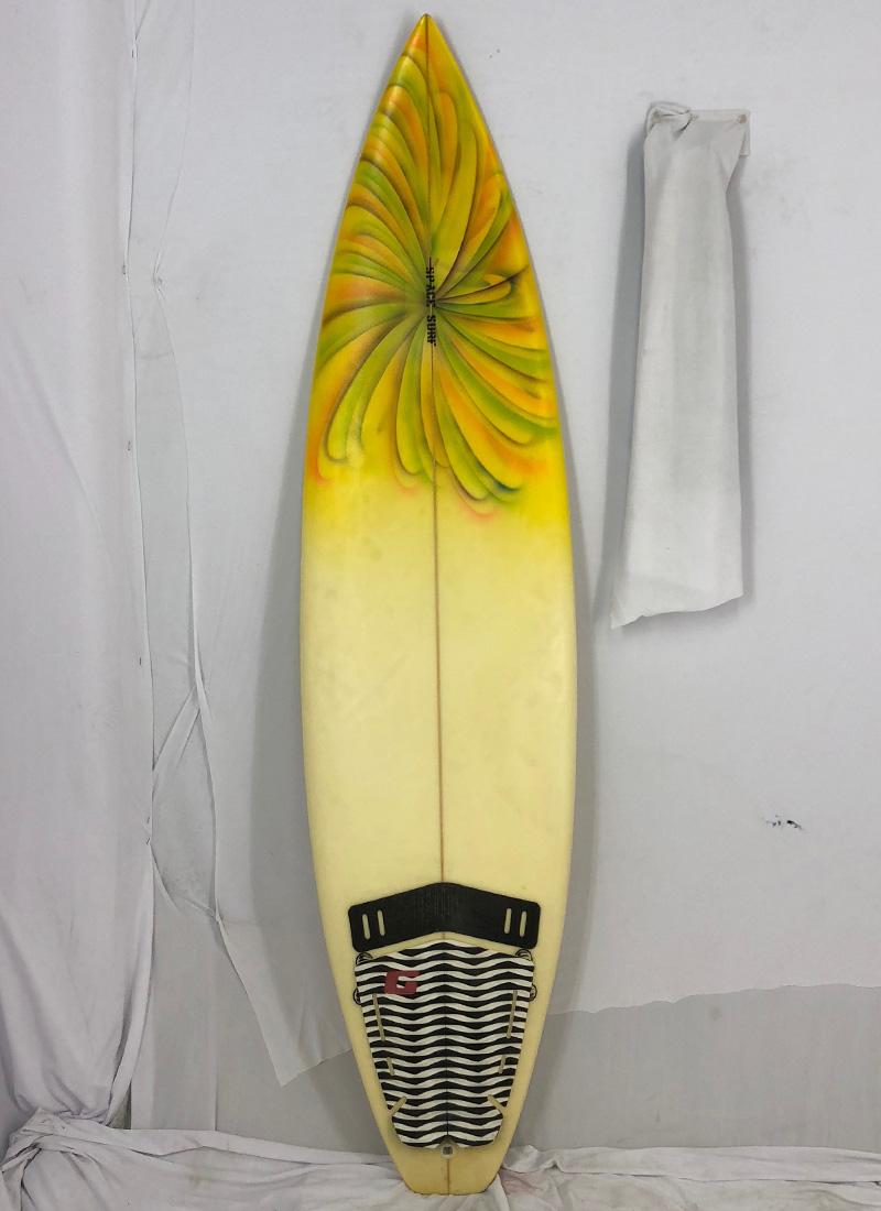 【当店一番人気】 【中古】No Brand(ノーブランド) サーフボード サーフボード [brush] 6'5