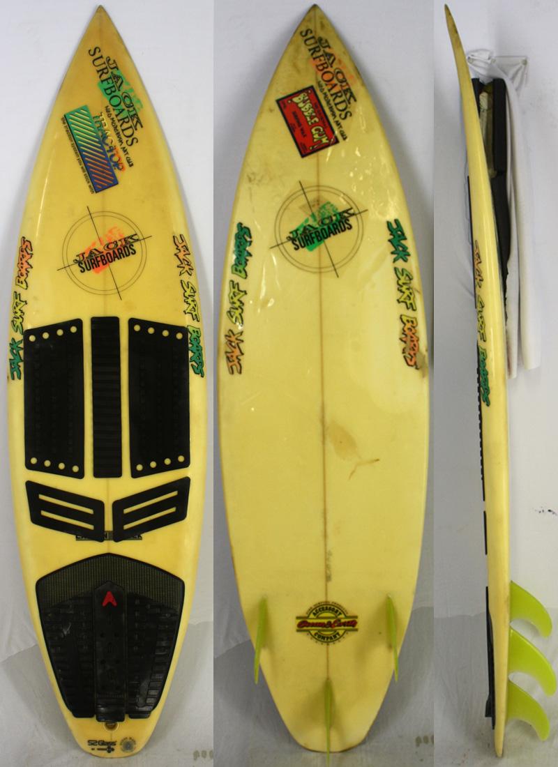 【中古】JACK SURFBOARDS サーフボード [clear] 183.5cm ショートボード