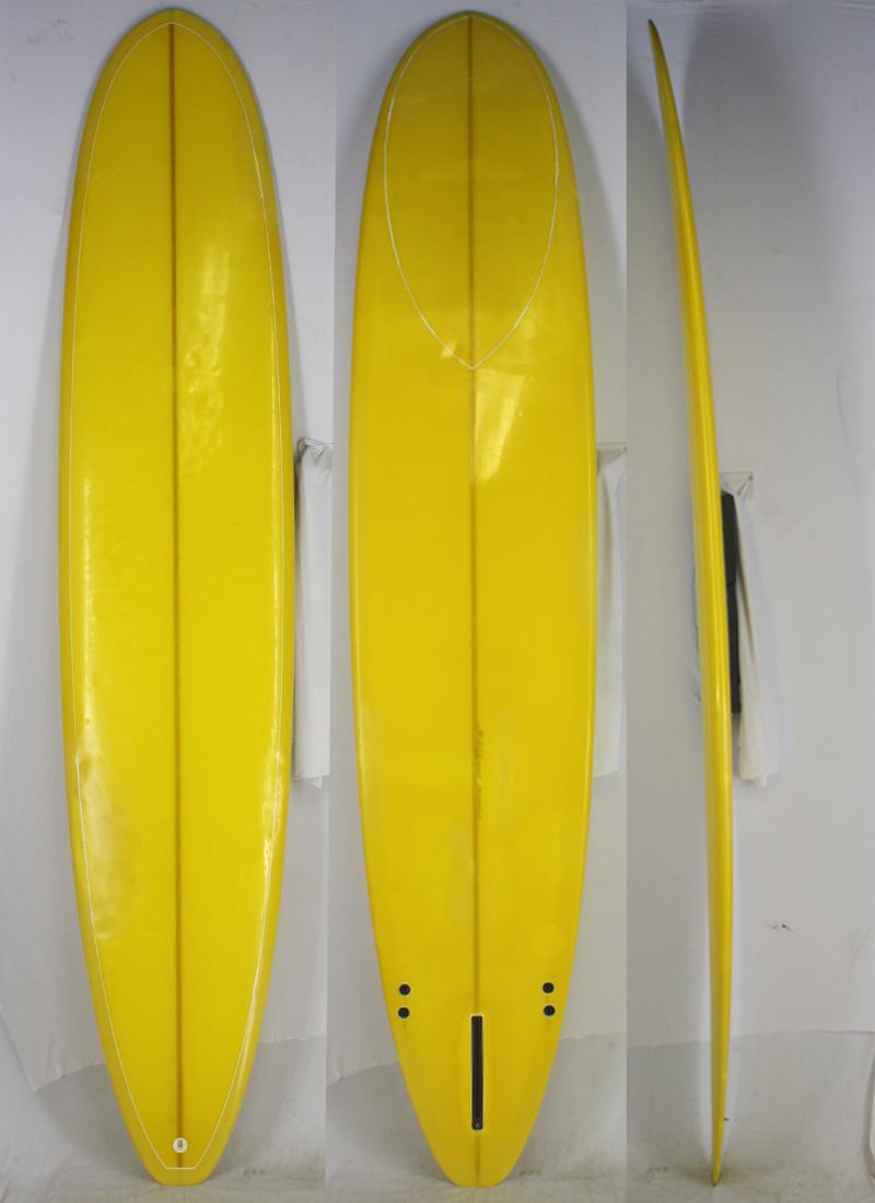 【中古】 No Logo(ノーロゴ・ノーブランド) サーフボード [Yellow] 289cm ロングボード