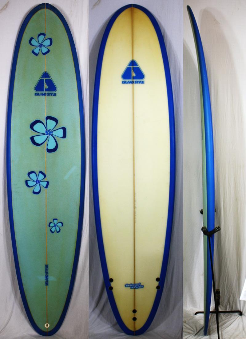 【中古】 ISLAND STYLE サーフボード [brush] 7'4