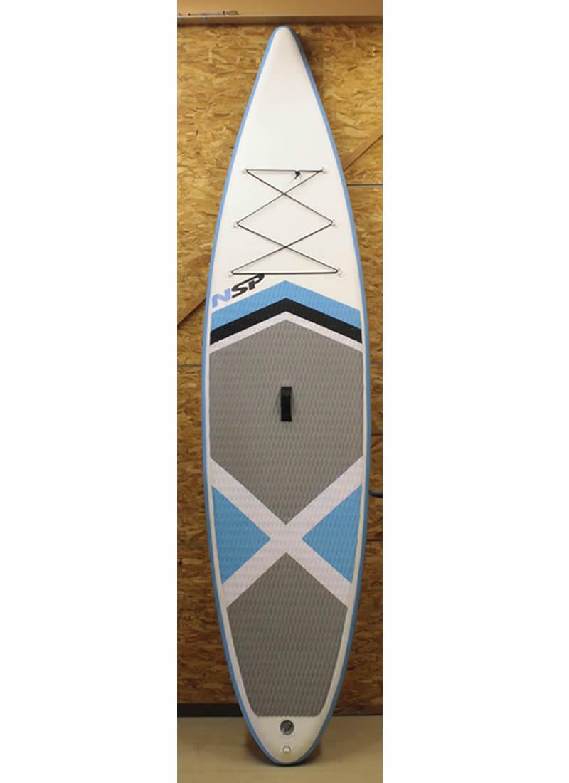 【新品】 NSP SUP SUP Oxygen Oxygen Inflatable【新品】 SUP インフレータブルボード[WHITE×BLUE]12'0