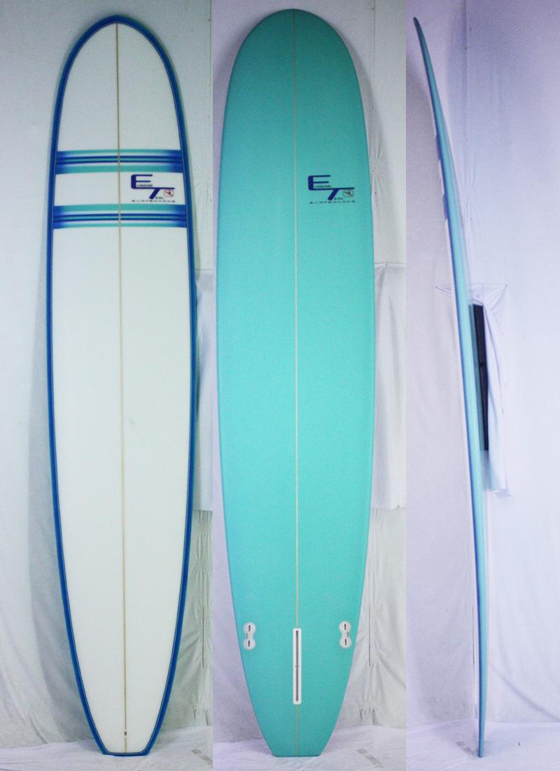 【新品】ET SURFBOARD (ユージンティール) ET CUSTOM サーフボード [Blue/line] 9'0