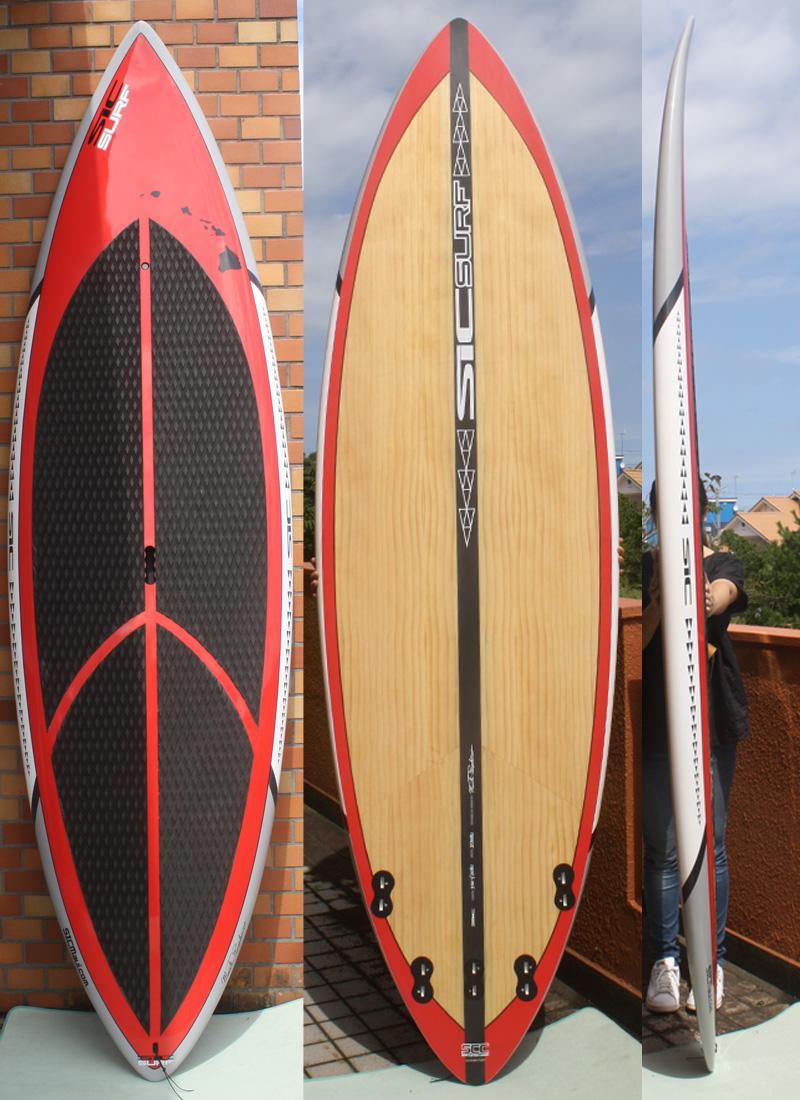【在庫有】 【極上中古】SIC(エスアイシー) Reconモデル TECH Surf SCC Reconモデル スタンドアップパドルボード Performance [Red] 9'4