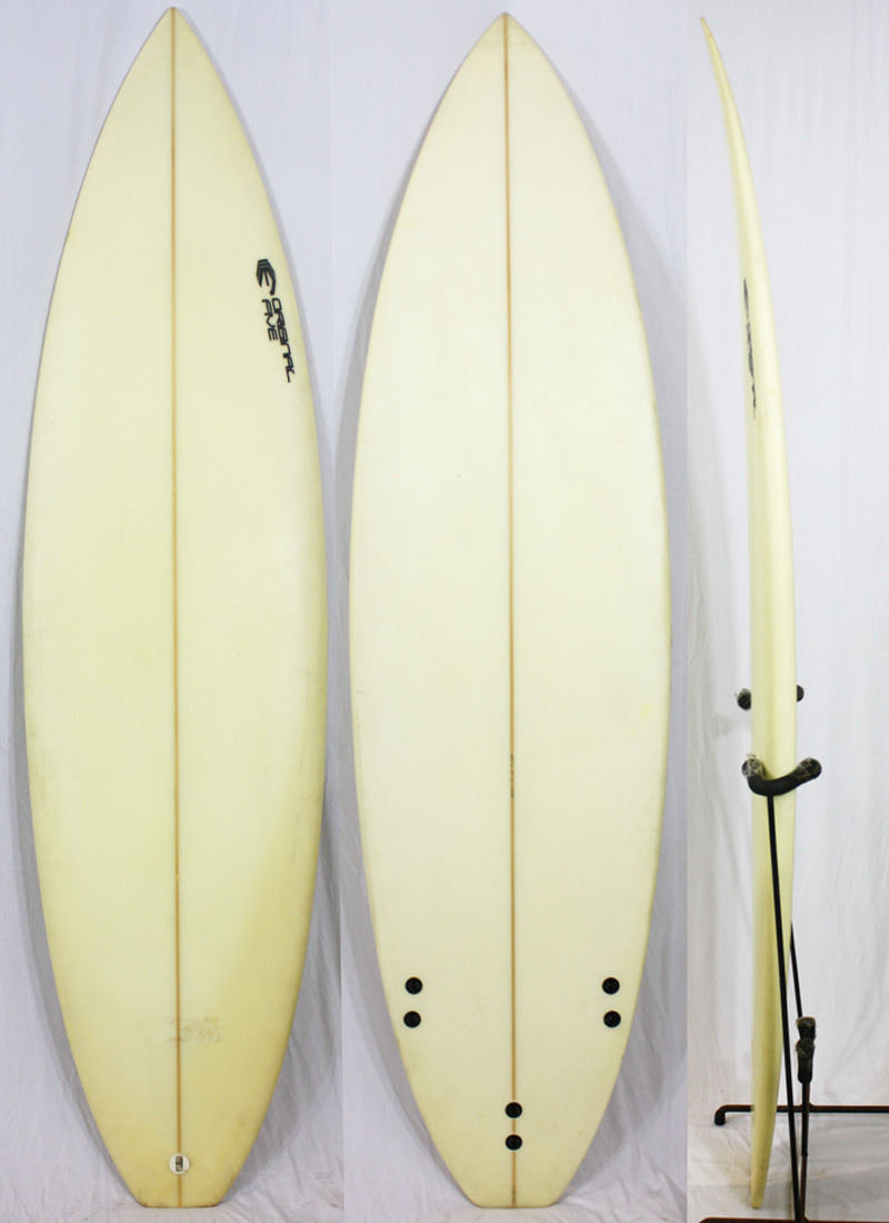 【中古】 ORIGINAL FIVE SURFBOARD サーフボード [CLEAR] 6'3