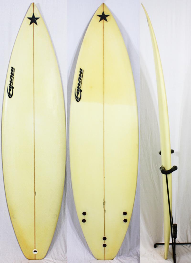 【中古】 MINAMI (ミナミ) サーフボード [CLEAR] 6'1