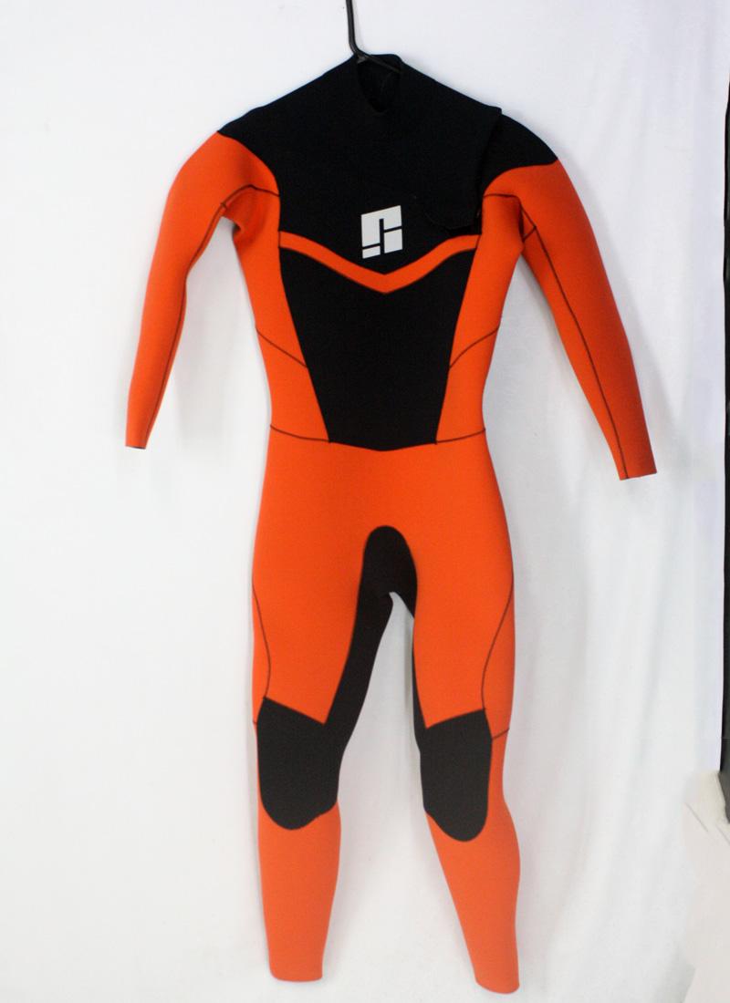 【新品】SIGHT(サイト)ウエットスーツ フルスーツ[Black/orange]メンズ ML-bサイズ スライドジップ ALL3mm ジャーフル WETSUITS