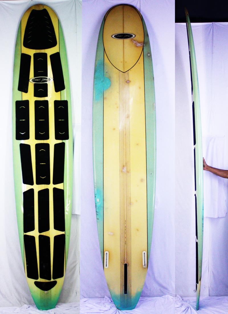 【中古】Bruce Jones Surfboards(ブルース・ジョーンズサーフボード) サーフボード [green] 10'0