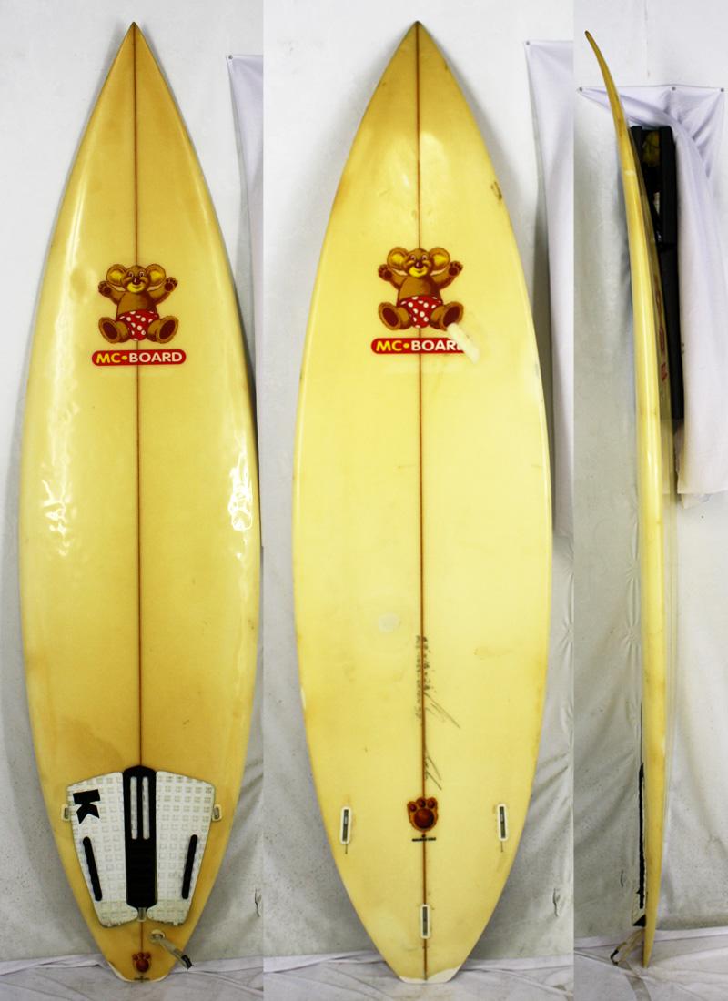 【中古】MAURICE COLE SURFBOARDS(モーリス・コール サーフボード) サーフボード [clear] 6'0