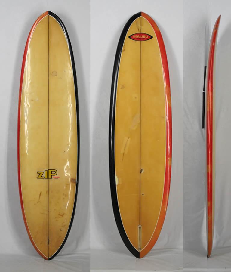 """7'0"""" ビンテージ希少中古 MALIBU SURF BOARD 212cm 超レア!! 日本で最初に作られたブランド !! 入手困難 希少な ヴィンテージ サーフボード!!"""