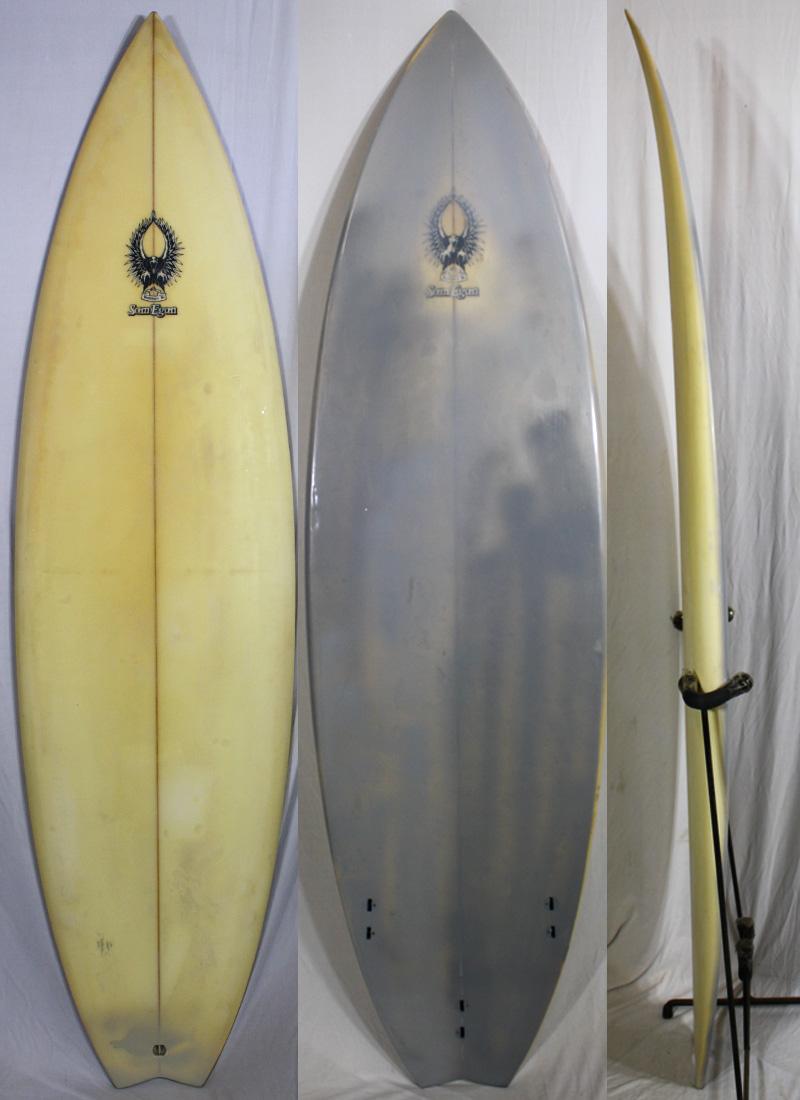 【中古】 EGAN(イーガン) サーフボード [clear] 175cm ショートボード