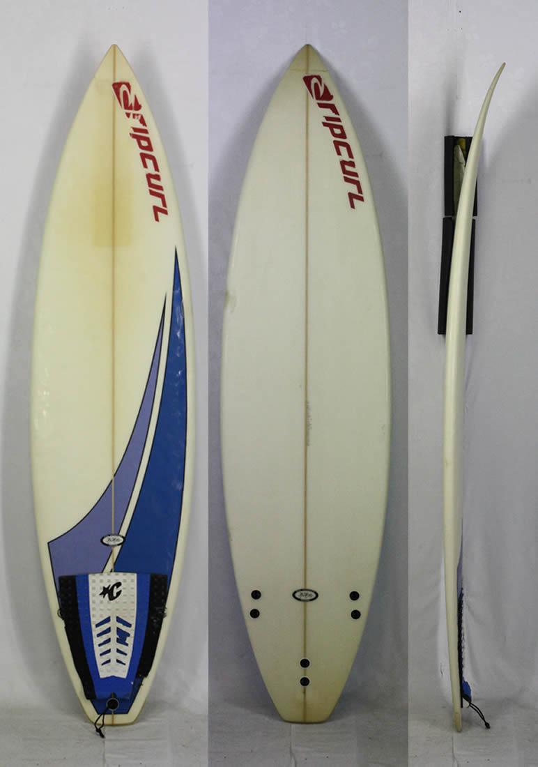 """6'2"""" 【中古】 KYM THOMPSON SURFBOARD [CLEAR/BLUE] キムトンプソン 軽快な動きが楽しめる!! サーフボード 現品1本限り!"""