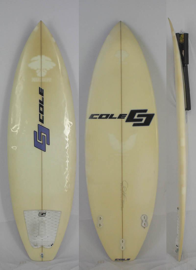 【中古】COLE (コール) ショートボード [CLEAR] 5'9