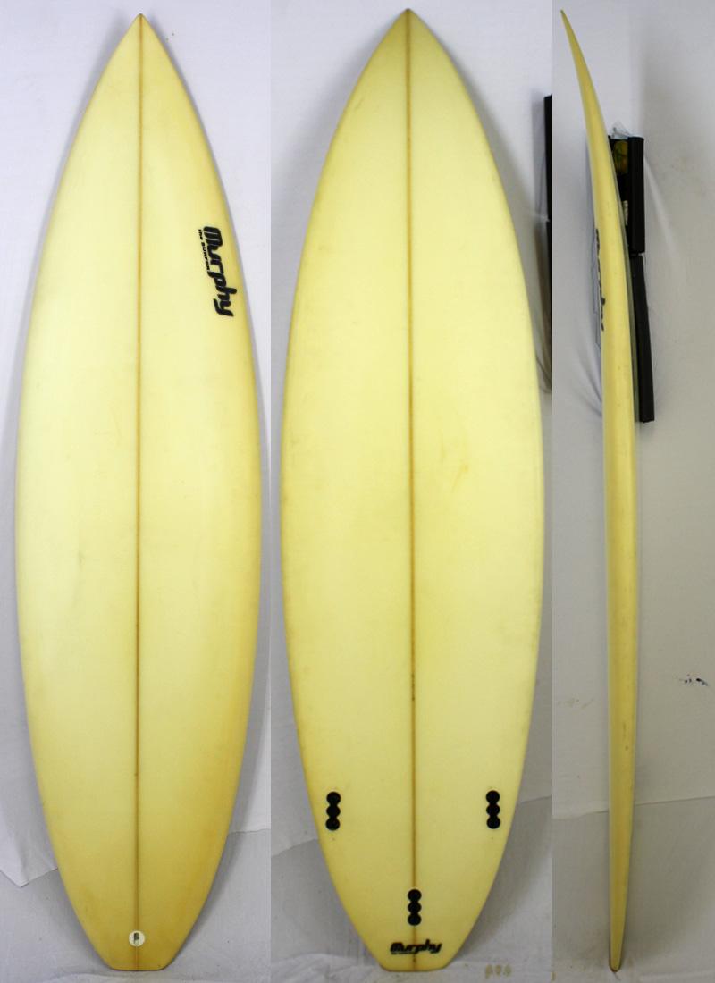 【中古】 murphy ( マーフィー ) サーフボード [CLEAR] 6'2