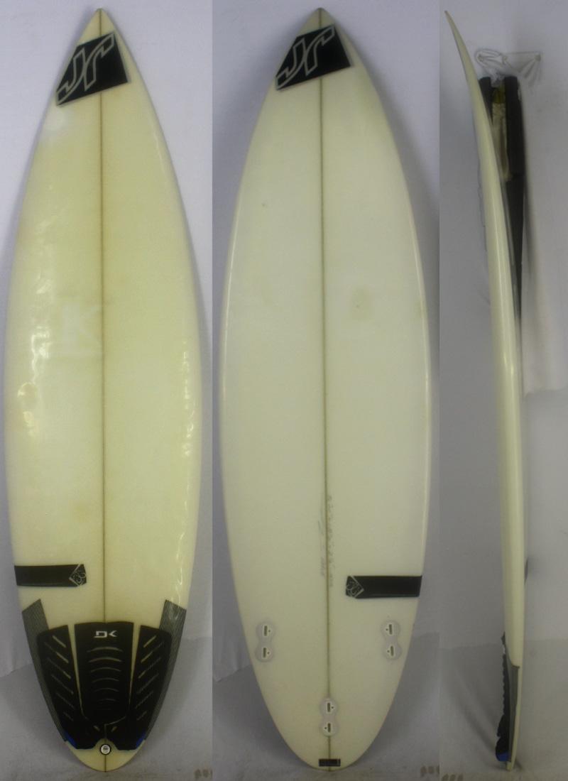 人気 【中古】JR SURFBOARDS(ジェイソンロッド)JASON RODD Shapes サーフボード [clear] 5'11