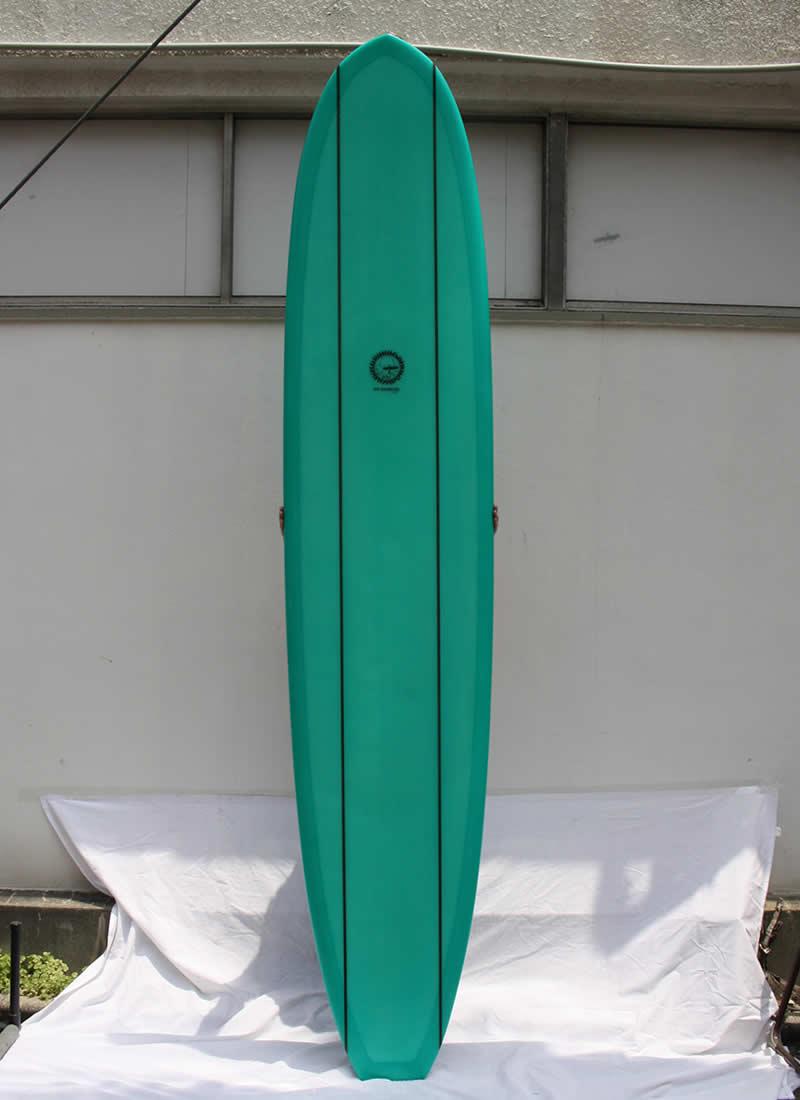 【中古】MIKE HYNSON(マイクヒンソン)サーフボード HY-I [GREEN]286cm ロングボード