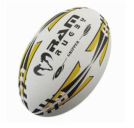 良質なトレーニングボール RAM RUGBY 3号球 グリッパー 信託 期間限定送料無料 ラグビーボール 小学生用 アンバー